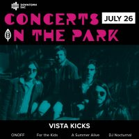 Concerts in the Park: Vista Kicks