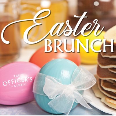 Easter Brunch at The Officer's Club