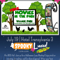Movies in the Park: Hotel Transylvania 3