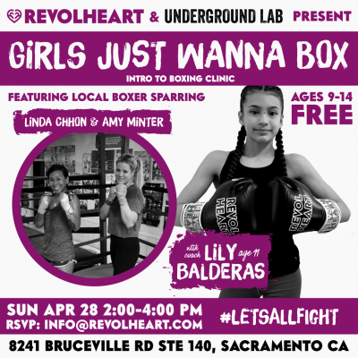Girls Just Wanna Box: Youth Boxing Event