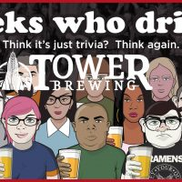 Geeks Who Drink at Tower Brewing