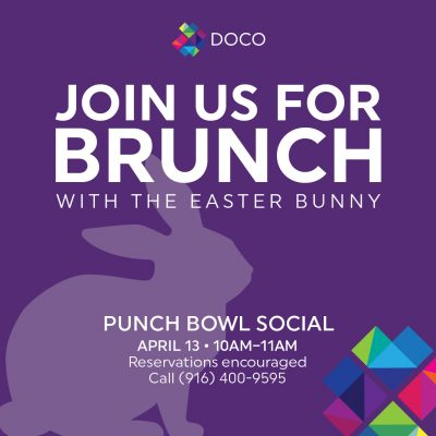 Easter Bunny Brunch (Punch Bowl)