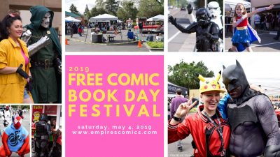 Empire's Comic Vault Free Comic Book Day Festival