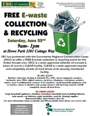 Free E-waste Collection and Recycling