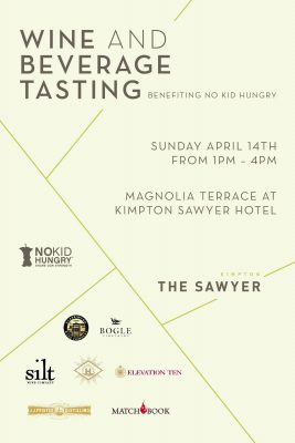 Wine and Beverage Tasting for No Kid Hungry