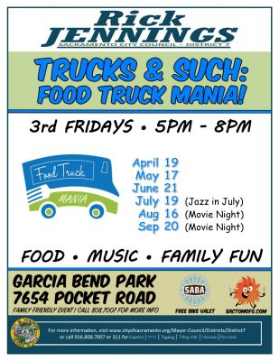 Trucks and Such: Garcia Bend Food Truck Mania