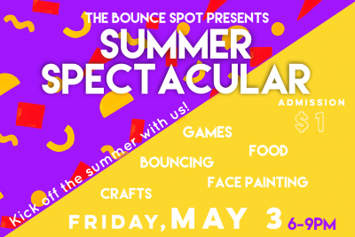 The Bounce Spot's Summer Spectacular
