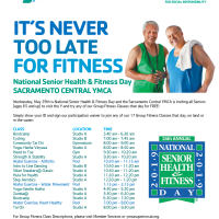 National Senior Health and Fitness Day at the YMCA