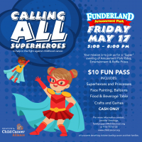 Keaton's Child Cancer Alliance's Fun at Funderland