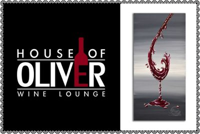 No Glass Needed Painting Experience at House of Oliver