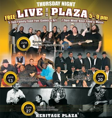 Thursday Night Live at the Plaza in Woodland