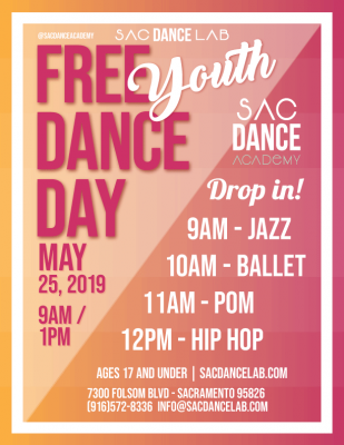 Free Youth Dance Day