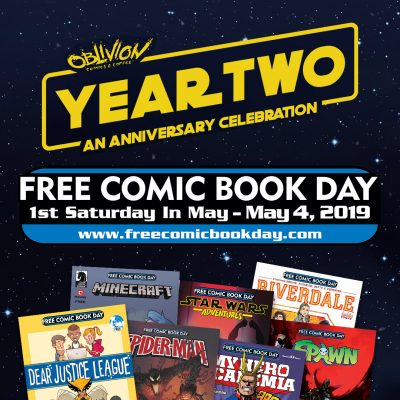 Free Comic Book Day at Oblivion Comics