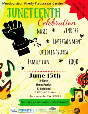 Meadowview Family Resource Center's Juneteenth Celebration