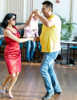Dads and Daughters Learn to Dance
