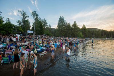 Music on the Beach at Lake Tahoe