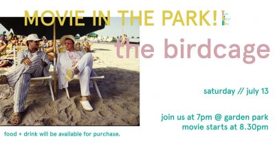 Movie in the Park: The Birdcage