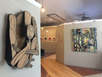 Richard Downs Solo Exhibition Reception and Art Talk