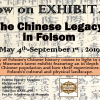 The Chinese Legacy in Folsom