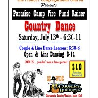 Paradise-Camp Fire Dance Fundraiser