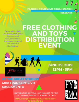 Clothing and Toys Distribution Event