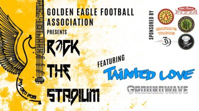 Rock The Stadium: Tainted Love and Groundwave