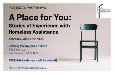 A Place for You: Stories of Experience with Homeless Assistance