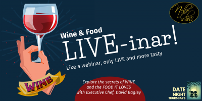 Food and Wine Live-inar!