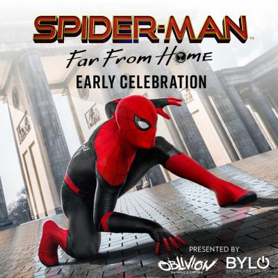 Spider-Man: Far From Home Celebration