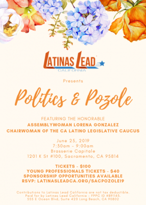 Latinas Lead California Politics and Pozole Event