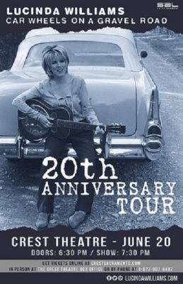 Lucinda Williams and Buick 6
