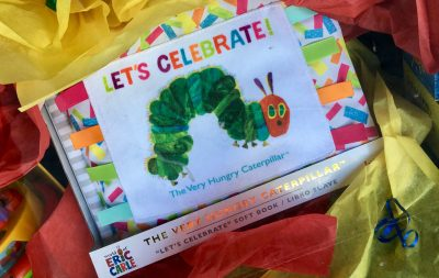 The Very Hungry Caterpillar 50th Birthday Party