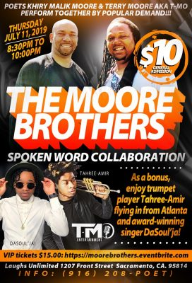 The Moore Brothers: Spoken Word Collaboration