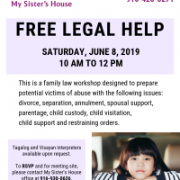 Legal Help for Victims of Abuse Workshop
