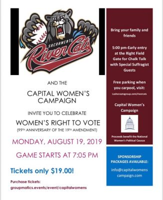 Women Power at the River Cats