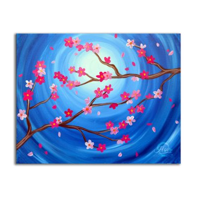 Cherry Blossoms Art Experience