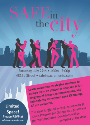 Safe In the City: Self-Defense and Empowerment Seminar