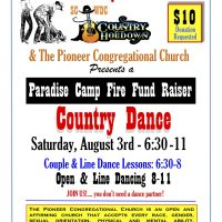 Paradise Camp Fire Dance Fundraiser