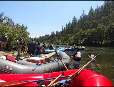 South Fork American River Cleanup
