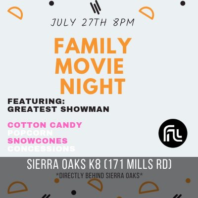 Family Outdoor Movie Night: The Greatest Showman