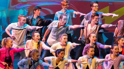 Back to Broadway featuring High Voltage