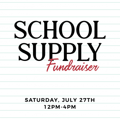 School Supply Drive Pop-Up at Tomato Alley Collective