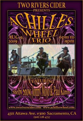 Achilles Wheel at Two Rivers Cider