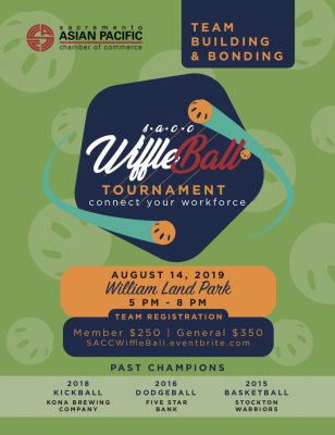 Sacramento Asian Pacific Chamber of Commerce Wiffle Ball Tournament