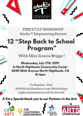 S.T.E.P. Workshop: Back to School on a Budget