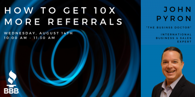 How to Get 10x More Referrals Presentation