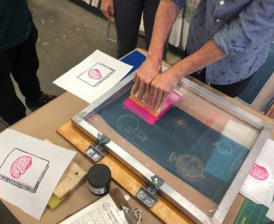 Screen Printing and DIY Portable Print Studio