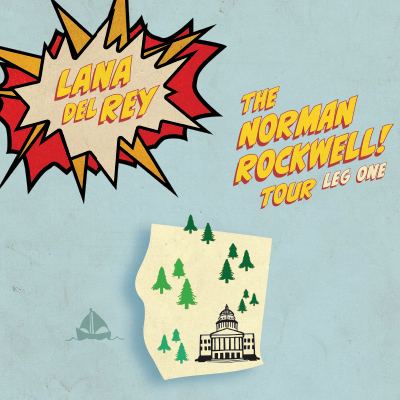 Lana Del Rey: The Norman F-cking Rockwell! Tour (SOLD OUT)