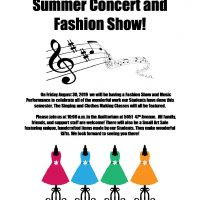 Summer Concert and Fashion Show