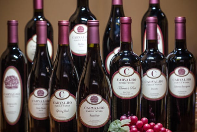 Bottle Your Own Wine at Carvalho Family Winery